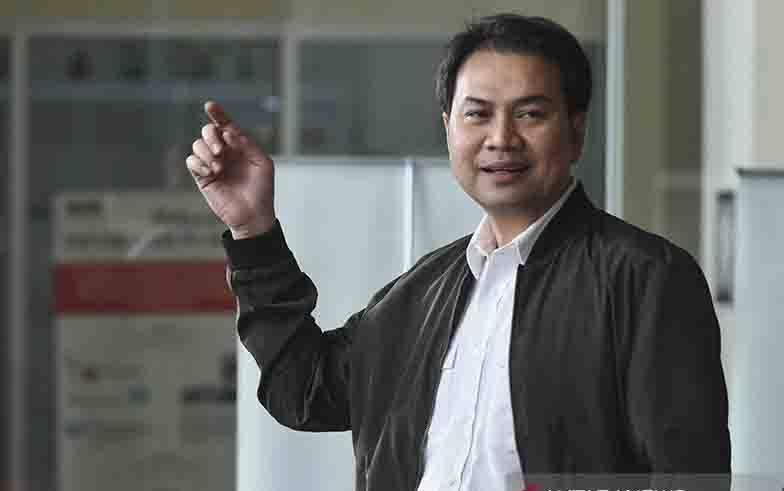 Wakil Ketua DPR RI Azis Syamsuddin.(foto :  ANTARA FOTO/Hafidz Mubarak A/ama/aa)