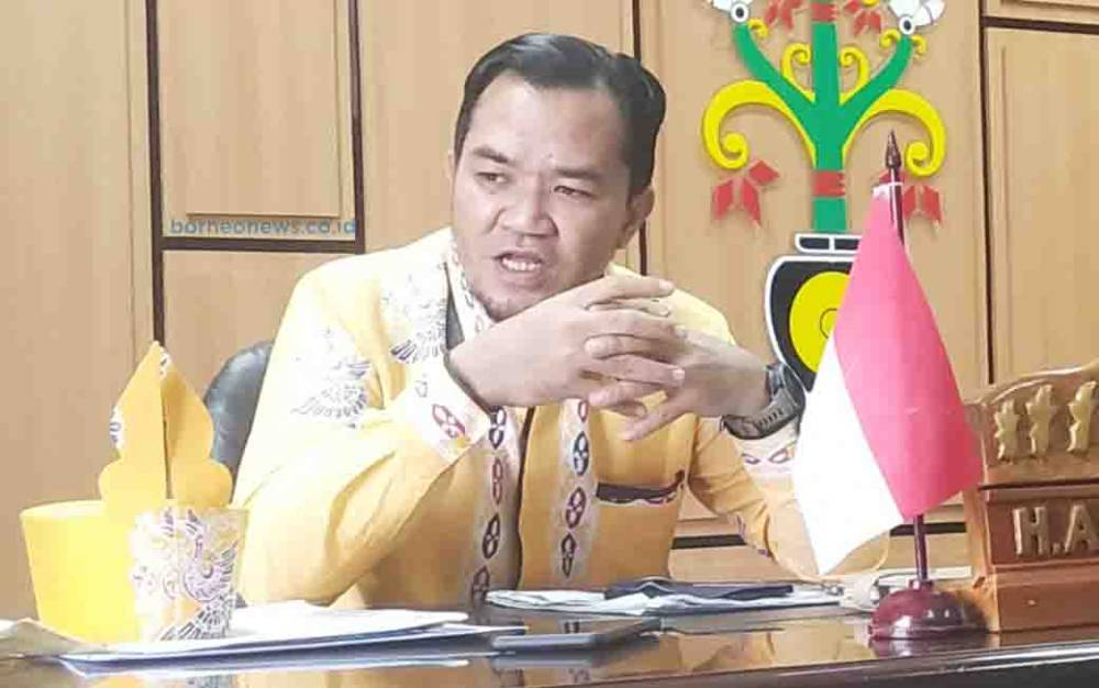 Ketua DPRD Pulang Pisau, Ahmad Rifai.
