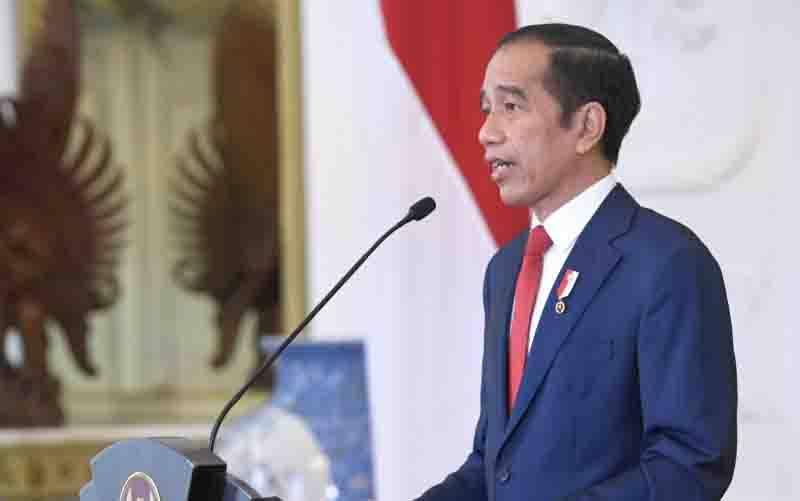 Presiden Jokowi. (foto : ANTARA/Biro Pers Istana)