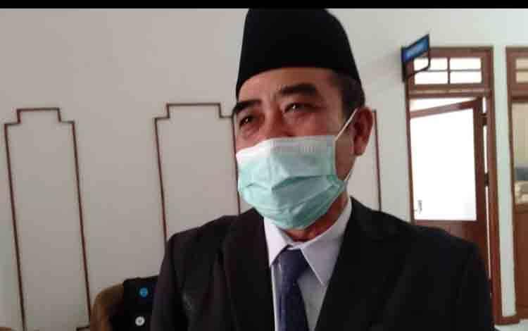 Kepala Badan Kepegawaian Sumber Daya Manusia (BKPSDM) Kota Palangka Raya, Sabirin Muhtar
