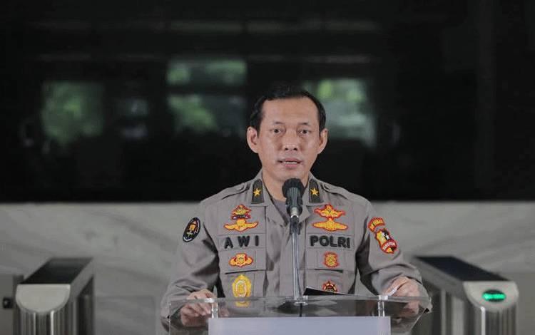 Kepala Biro Penerangan Masyarakat Divhumas Polri Brigjen Pol Awi Setiyono