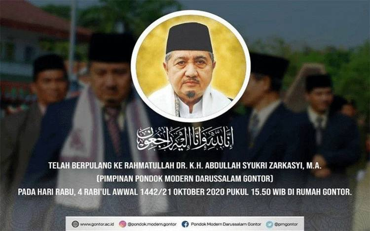 KH Adbullah Syukri Zarkasyi (IST)
