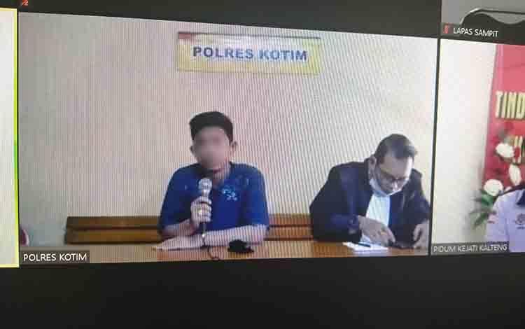 Deni Perwira Putra alias Deni tersangka kasus sabu