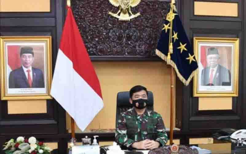 Panglima TNI Marsekal TNI Hadi Tjahjanto. (foto : ANTARA/HO-Puspen TNI)