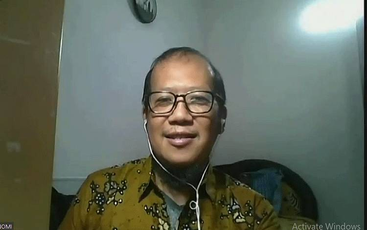 Ketua Bidang Sustainability pada Gabungan Pengusaha Kelapa Sawit Indonesia atau GAPKI, Dr Bandung Sahari.