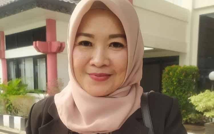 Wakil Ketua Komisi B DPRD Palangka Raya, Susi Idawati.