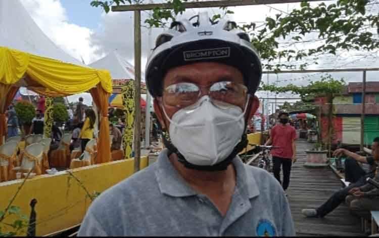 Jubir Tim Gugus Penanganan Covid-19 Kobar, Achmad Rois