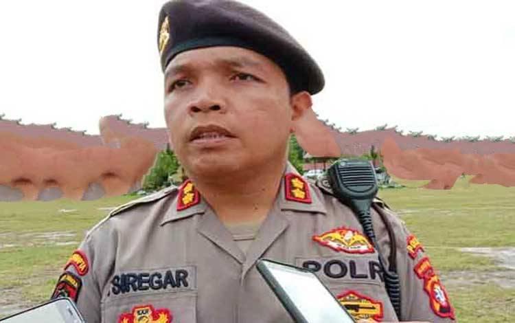 Wakil Direktur Samapta Polda Kalteng AKBP Timbul RK Siregar