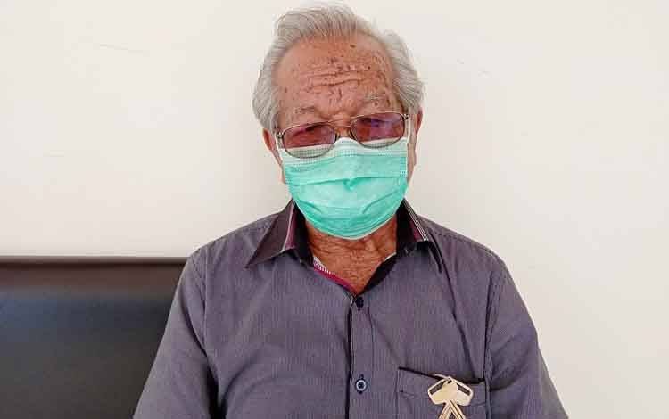 Tokoh masyarakat Barito Timur, Allen Ngepek
