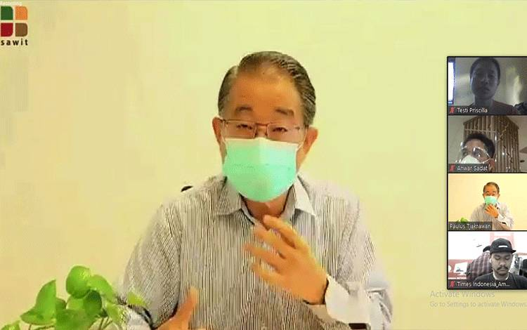 Ketua Harian Asosiasi Produsen Biofuels Indonesia atau Aprobi, Paulus Tjakrawan.
