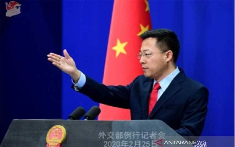 Juru bicara Kementerian Luar Negeri Cina (MFA), Zhao Lijian