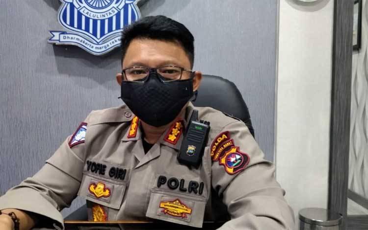 Direktur Lalu Lintas Polda Sumatera Barat Kombes Yofie Girianto Putro