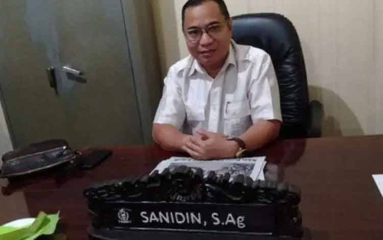 Ketua Komisi III DPRD Kotawaringin Timur, Sanidin.