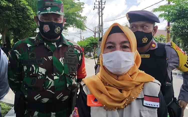 Ketua Harian Satgas Covid-19 Kota Palangka Raya Emi Abriyani