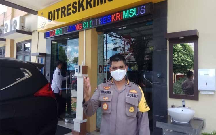 Kabid Humas Polda Kalteng, Kombes Hendra Rochmawan