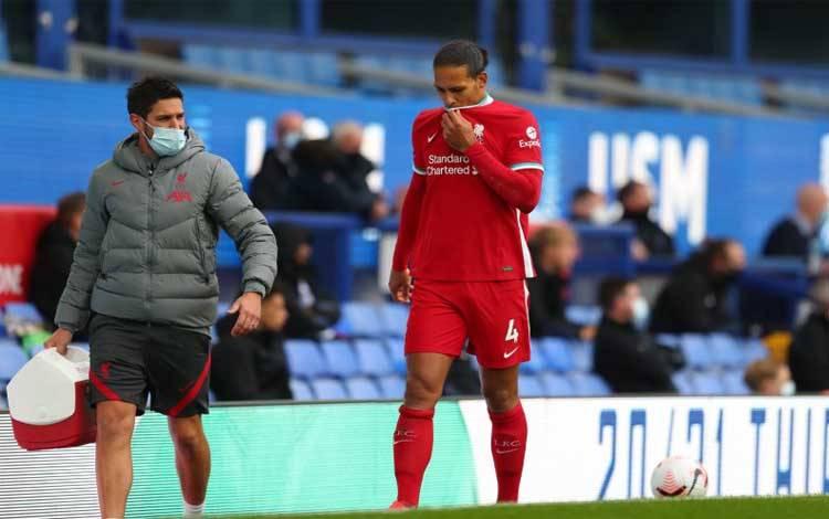 Bek tengah Liverpool Virgil van Dijk