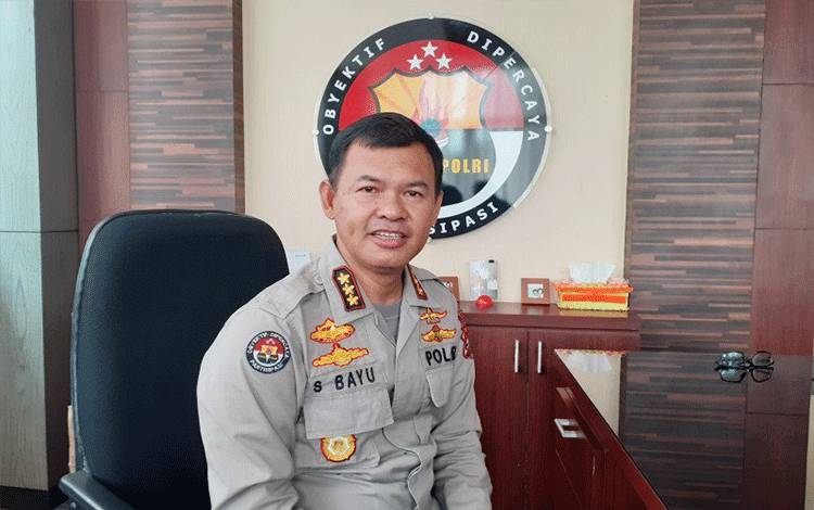 Kabid Humas Polda Sumbar Kombes Pol Satake Bayu (ANTARA/ Mario Sofia Nasution)