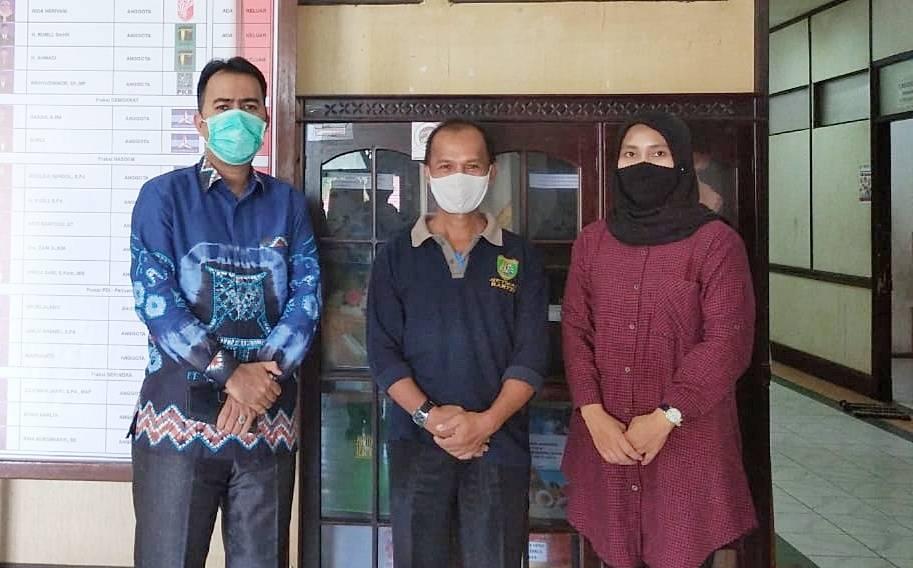 Kunjungan kerja Wakil Ketua DPRD Tabalong Habib Muhammad Taufani Alkaf ke DPRD Barito Timur