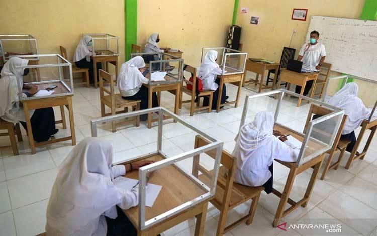 Simulasi Pembelajaran Tatap Muka di Banjarmasin