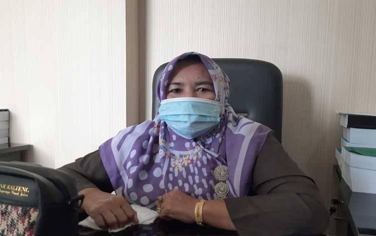 Anggota DPRD Gunung Mas, Siti Hilmiah