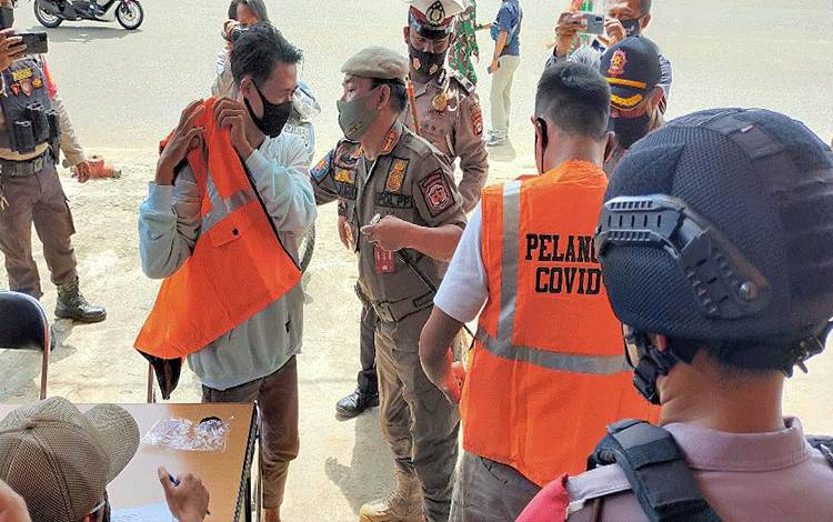 Operasi Yustisi di Murung Raya Jaring 538 Pelanggar