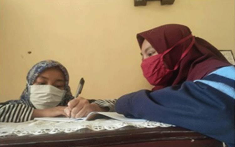 Mahasiswa KKN Mengadakan Bimbingan Belajar untuk Anak SD