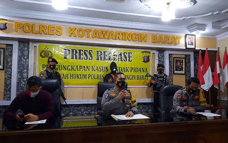 Polres Kobar Tetapkan Ketua Rombongan Tambang Ilegal Sebagai Tersangka Atas Laka Kerja Yang Menimpa 10 Penambang.