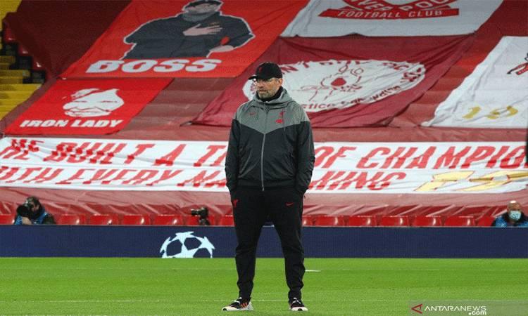 Pelatih Liverpool asal Jerman Jurgen Klopp.(PA Images via Reuters Connect/Peter Byrne)