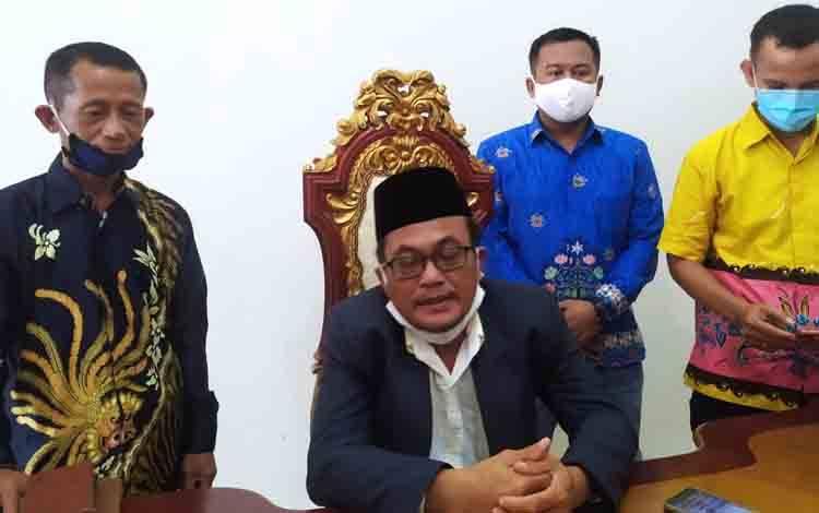Ketua Kamar Dagang dan Industri (Kadin) Kota Palangka Raya, Farchan Slamet.