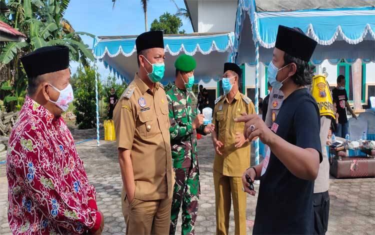 Simulasi pemungutan dan perhitungan suara pada pemilihan Gubernur dan Wakil Gubernur Kalimantan Tengah