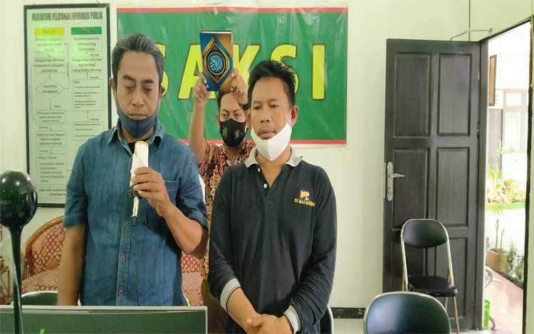 Wanto dan Taufik saksi dalam kasus M Antoni terdakwa penggelapan Miko