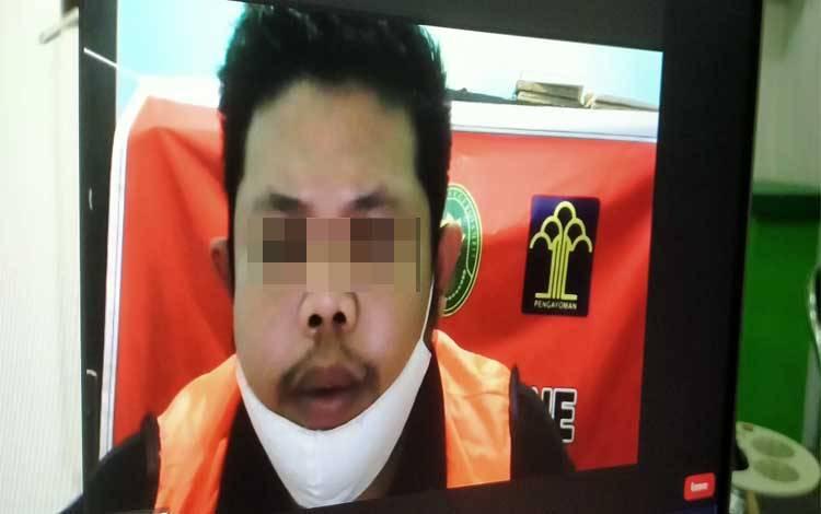 Yandy Septyawan terdakwa kasus penggelapan