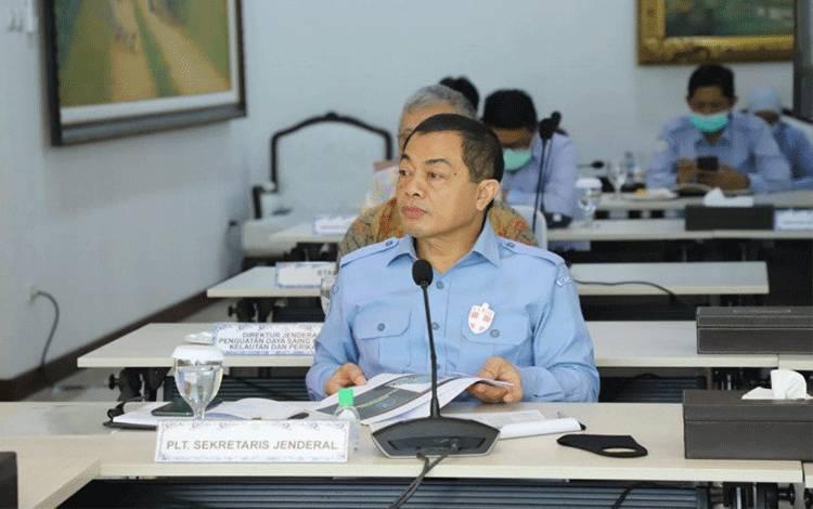 Sekjen Kementerian Kelautan dan Perikanan (KKP) Antam Novambar. ANTARA/HO-Dok KKP