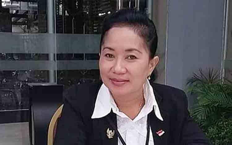 Ketua Ikatan Guru Indonesia atau IGI Barito Timur, Yuli Rinawati.