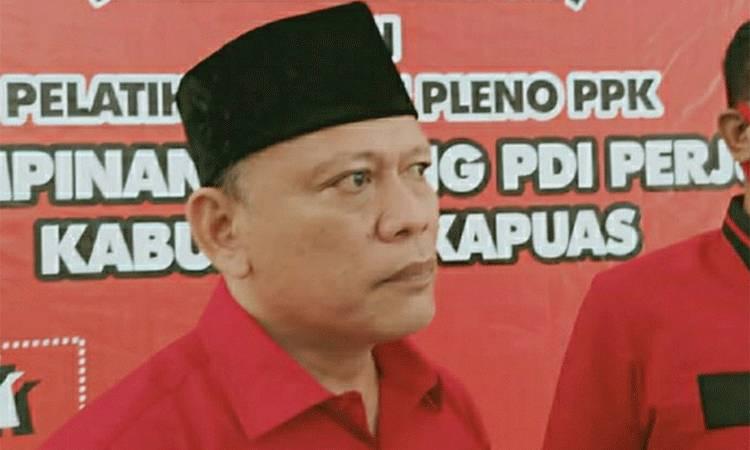 Ketua Tim Kampanye Paslon Cagub dan Cawagub Kalteng nomor urut 02, H Sugianto Sabran - H Edy Pratowo untuk Kabupaten Kapuas, H Muhammad Mawardi