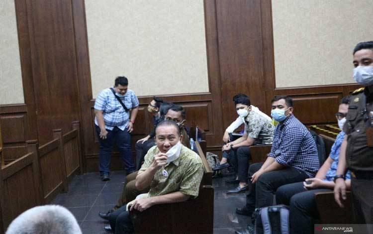 Djoko Tjandra menjalani sidang di Pengadilan Tipikor Jakarta