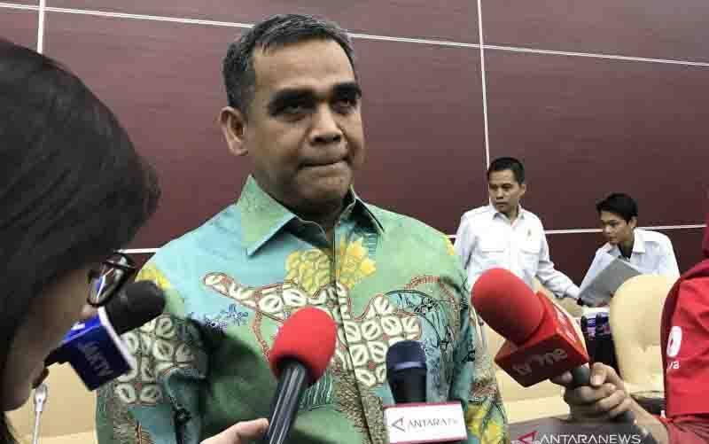 Sekretaris Jenderal DPP Partai Gerindra Ahmad Muzani. (foto : ANTARA/ Sella Panduarsa Gareta)