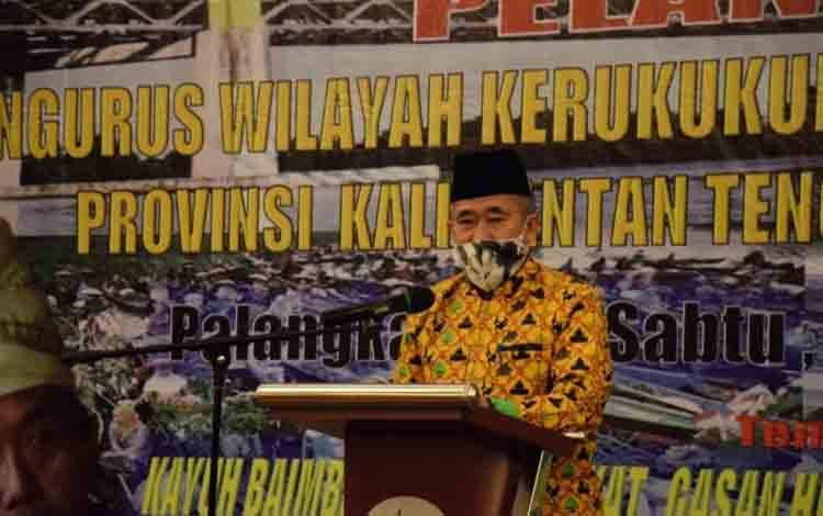 Asisten II Setda Kalteng, Nurul Edy.