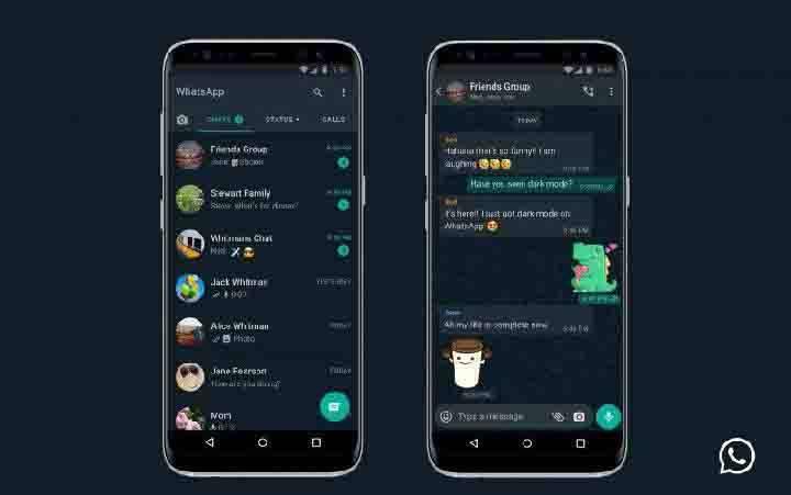 Ilustrasi Tampilan WhatsApp. Aplikasi percakapan milik Facebook ini sedang mengembangkan sejumlah fitur baru untuk versi mendatang. (foto : ANTARA/WhatsApp)