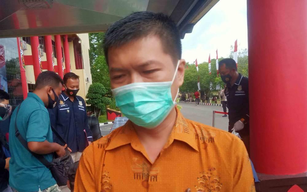 Kasi Pengelolaan Limbah B3 pada Dinas Lingkungan Hidup Provinsi Kalteng, Yulberi