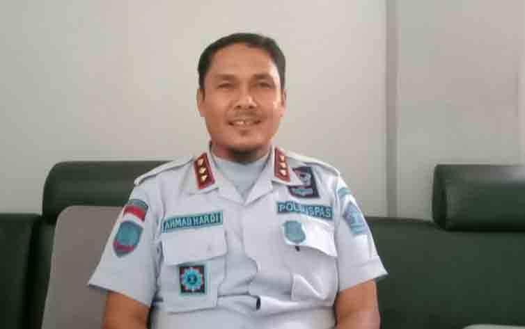 Keterangan poto: Kalapas Narkotika Kelas II A Kasongan Ahmad Hardi