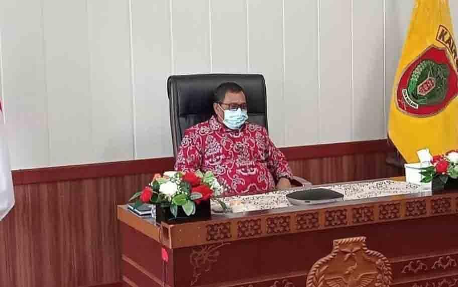 Plt Gubernur Kalteng, Habib Ismail Bin Yahya