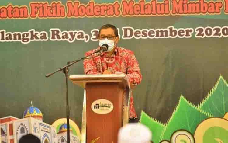 Plt Gubernur Kalteng Habib Ismail Bin Yahya
