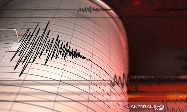 Ilustrasi - Seismograf mencatat getaran gempa. ANTARA/Shutterstock/pri.