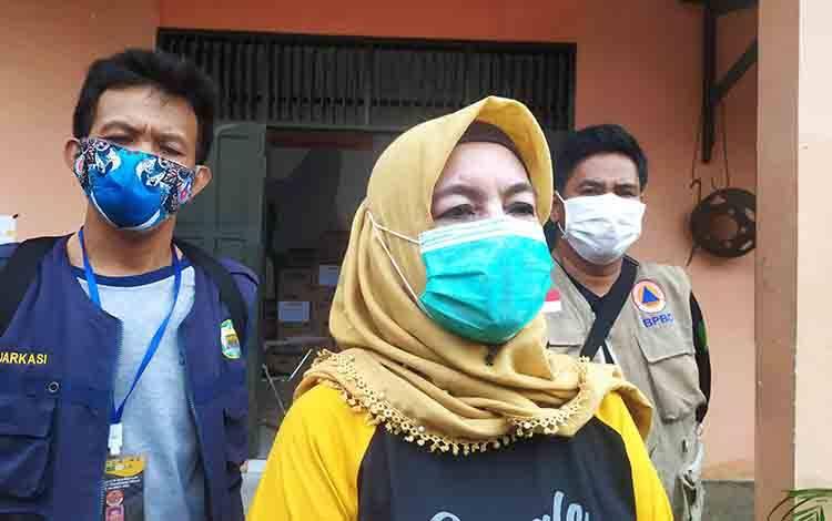 Ketua Harian Satgas Penanganan Covid-19 Kota Palangka Raya Emi Abriyani.