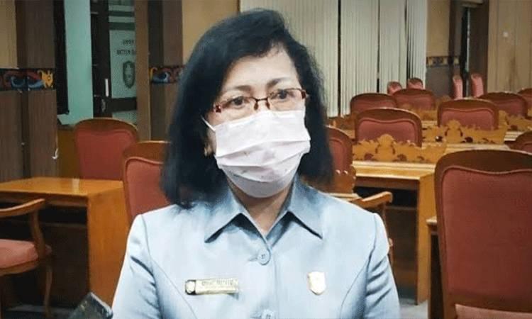 Ketua DPRD Kotawaringin Timur,. Rinie Anderson.