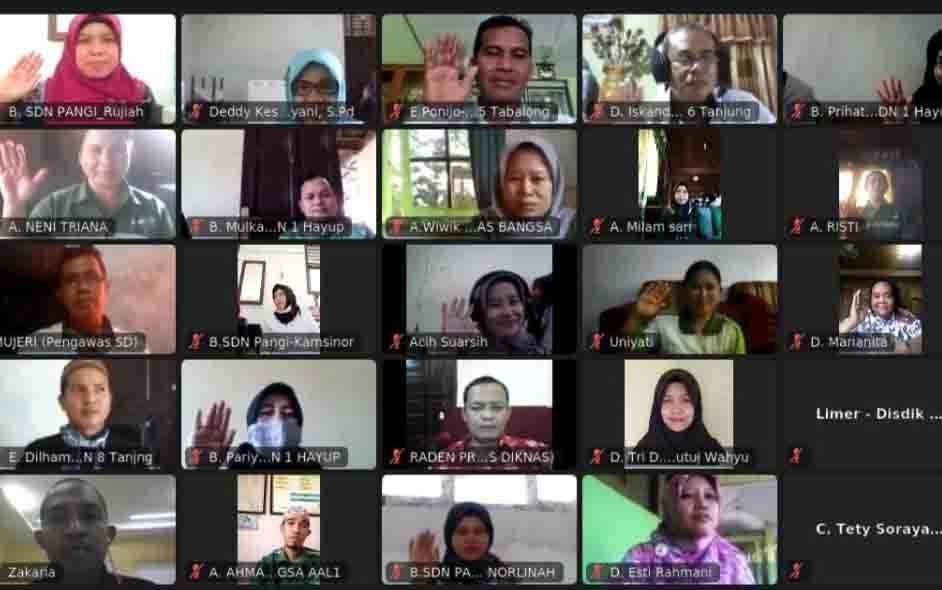 Training Komite Sekolah Bisa yang digelar secara virtual oleh PT Bhadra Cemerlang.