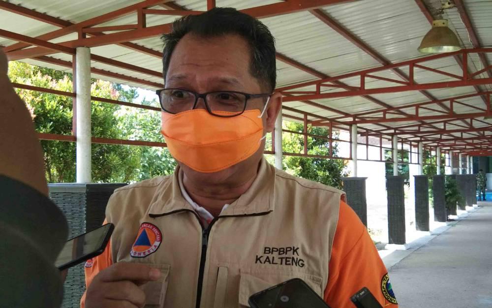 Plt Kepala BPBPK Provinsi Kalteng, H Darliansjah.