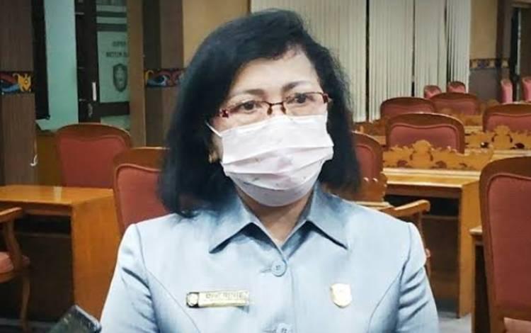 Ketua DPRD Kotawaringin Timur Rinie Anderson.