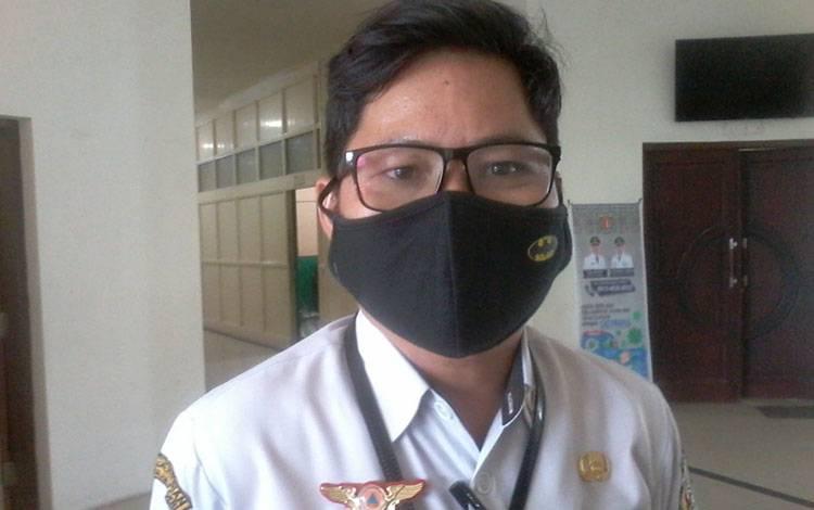Koordinator Satgas Covid-19 yamg juga Kepala BPBD Katingan,  Eka Suryadilaga.